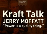 "Kraft Talk with Jerry Moffatt: ""Power is a quality thing"" (c) cafekraft"