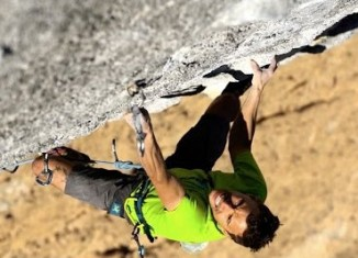 "Jonathan Siegrist Immersed In Catalonia's ""Power Inverter"" (9a+) (c) EpicTV"