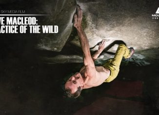 "Dave MacLeod in ""Practice of the Wild"" (8c) (c) Mountain Equipment"