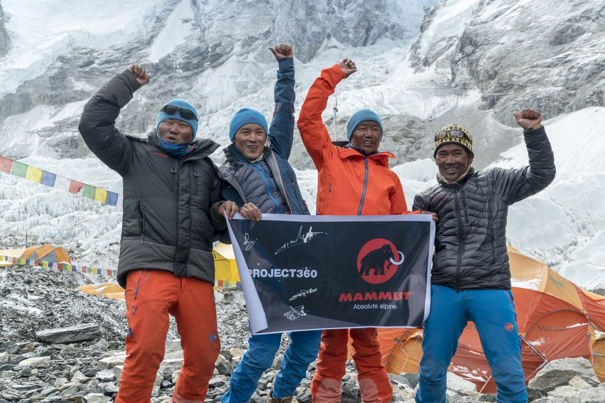 Mammut #project360 erobert den Mount Everest (c) Mammut #project360