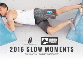 Slow Moments - Bouldering World Cup 2016 in Vail, Colorado (c) Louder Than Eleven
