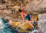 Jernej Kruder On The Second Ascent of 'Es Pontas', Mallorca (c) Kerstin Helbach
