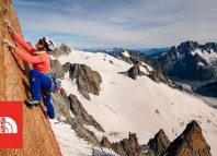 Caroline Ciavaldini in 'Voie Petit' (c) The North Face
