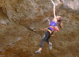 14-Year-Old Laura Rogora Becomes Second Youngest To Climb 9a (c) EpicTV