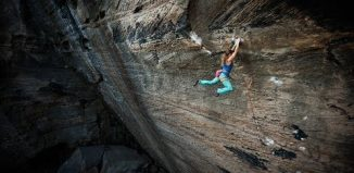 Michaela Kiersch and 'The Golden Ticket' (5.14c) (c) Fox & Wickstrom Media