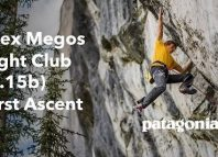 Alex Megos in 'Fight Club' (5.15b) - First Ascent (c) Patagonia