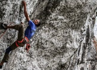 Steve McClure Takes On Five 8b+ Routes In Five Days (Part 1) (c) EpicTV