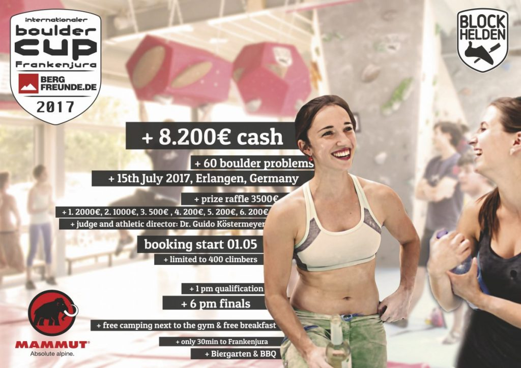 Internationaler Bouldercup Frankenjura 2017 (c) BLOCKHELDEN