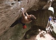 Jonas Winter on 'Nikita' (8c) (c) climbtoheaven