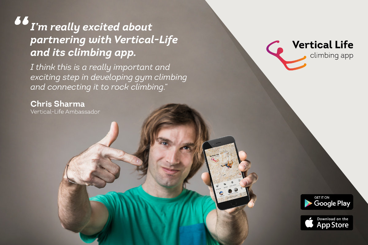Vertical-Life startet Partnerschaft mit Chris Sharma (c) Vertical Life
