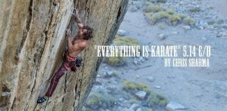 Chris Sharma on 'Everything is Karate' (5.14c/d) (c) Sharma Channel