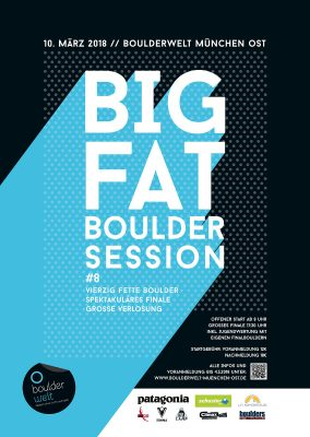 BIG FAT BOULDER SESSION #8 (c) Boulderwelt München Ost