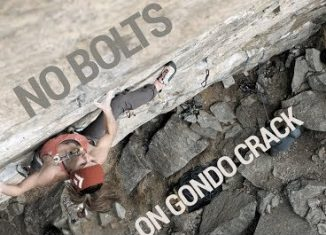 Babsi Zangerl And Jacopo Ignore The Bolts On 'Gondo Crack' (8c) (c) EpicTV