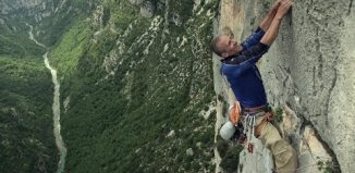 Steve McClure makes epic ascent of 6-pitch Verdon 8b super route (c) teamBMC