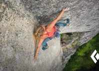 BD Athlete Hazel Findlay on 'Tainted Love' (5.13d) (c) Black Diamond Equipment
