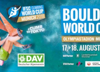 Boulderweltcup 2018 Finale im Münchner Olympiastadion