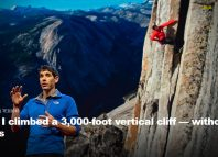 Alex Honnold - Ted Talk 2018 (c) Ted Talks