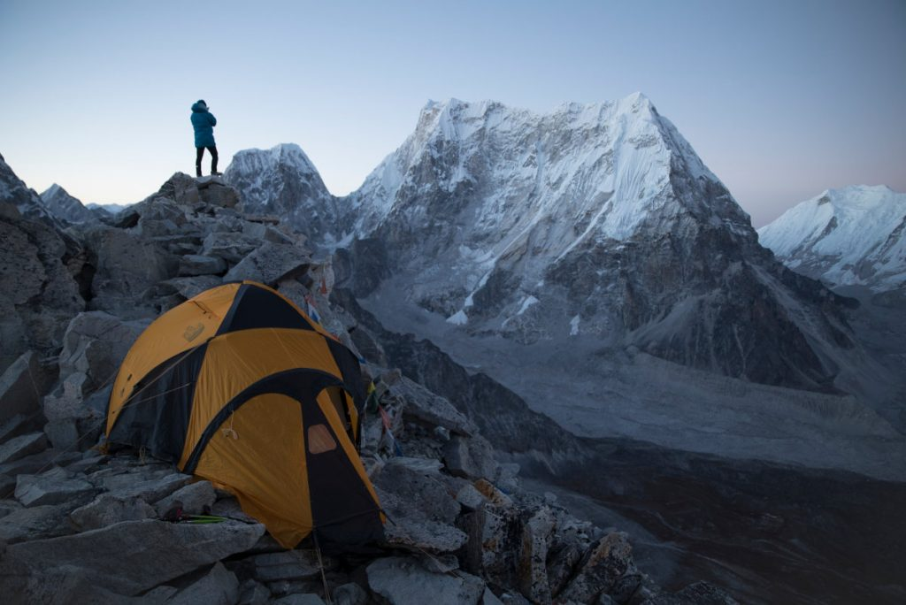 David Lama am Lunag Ri (c) Martin Hanslmayr, Red Bull Content Pool