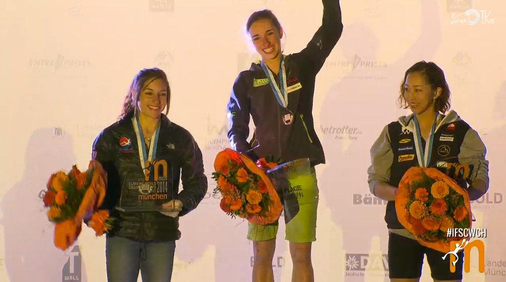 Sieger Damen Boulder-WM 2014