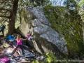 Giada Zampa climbing Lista da Piuma (c) Open Circle