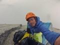 Schlechtes Wetter im Portaledge Camp (c) Silvan Schüpbach, Bernadette Zak