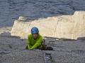 Splitter Crack über einem Ozean aus Granit (c) Silvan Schüpbach, Bernadette Zak