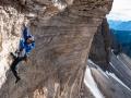 David Lama in 'Bellavista' 11 an der Westlichen Zinne gehört zum Thema 'Alpines Klettern' von Rainer Eder: www.rainereder.com