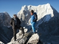 David Lama und Conrad Anker am Lunag Ri in Nepal (c) Martin Hanslmayr, Red Bull Content Pool