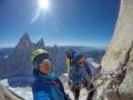 Silvan Schüpbach und Matteo Della Bordella am Cerro Torre (c) Silvan Schüpbach, Matteo Della Bordella
