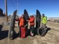 Stefan Glowacz, Robert Jasper und Klaus Fengler auf Baffin Island (c) Klaus Fengler