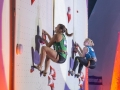 Nina Lach beim Leadweltcup 2016 in Chamonix (c) KVÖ/Wilhelm