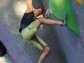 David Firnenburg beim Boulderweltcup 2016 in München (c) DAV/Marco Kost