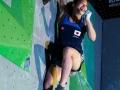 Miho Nonak beim Boulderweltcup 2016 in München (c) DAV/Marco Kost