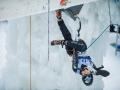 Park Hee Yong beim Eiskletterweltcup 2017 in Rabenstein (c) Patrick Schwienbacher