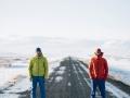 Albert Leichtfried und Benedikt Purner auf Island (c) Elias Holzknecht