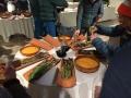 Außergewöhnliches und sehr gutes Abendessen bei der Petzl Party (c) Martin Joisten