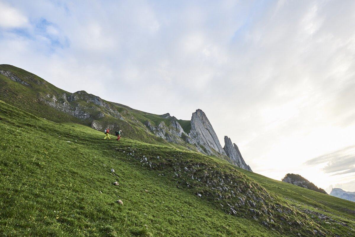 Michi Wohlleben in 'Parzival' (8b) im Alpsteingebirge (c) Frank Kretschmann