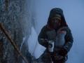 Die einzige Konstante im 2. Versuch: Bestes Wetter am Morgen, Schneefall gegen Abend. (c) Timeline Productions