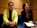 Interview mit Der Standard (A), Journalist Thomas Neuhold, Oh Eun Sun (c) Antonia Zennaro