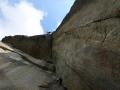 A2+ in der ausgesetzten Great-Roof-Pitch (c) Alpinkader NRW