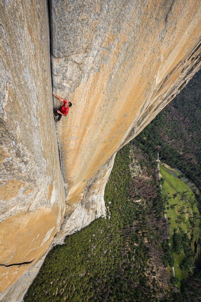 Alex Honnold klettert El Capitan Free Solo (c) Jimmy Chin