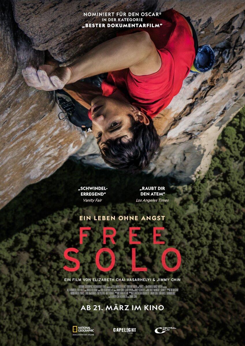 Free Solo Plakat