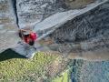 Alex Honnold bewaltigt als erster die Freerider Route am El Capitan im Yosemite Nationalpark Free Solo (c) Jimmy Chin