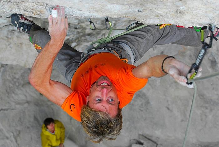 Andreas und Christian Bindhammer klettern eines der härtesten Projekte in Tirol