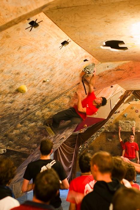 Baden-Württembergischen Bouldermeisterschaften in Reutlingen