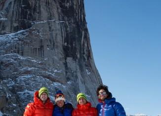 Michelle Blaydon und Ross Hewitt gelingt erfolgreiche Kletter- und Ski-Expedition