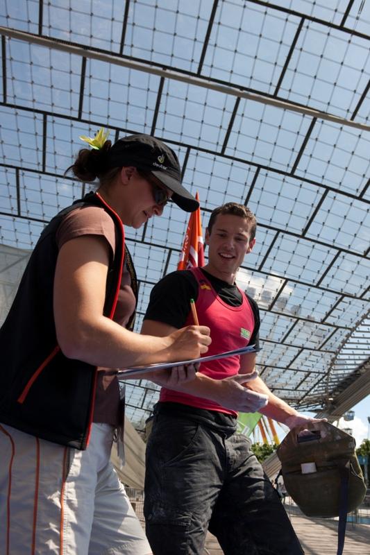 Gesamtweltcup Bouldern 2010: Noguchi und Ondra vor Stöhr und Fischhuber