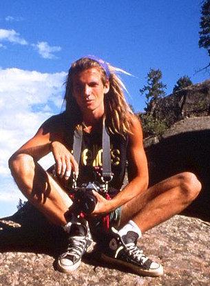 Martin Joisten 1990 im Penitente Canyon