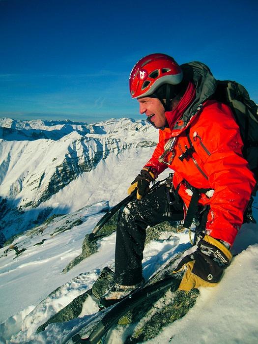 Albert Leichtfried und Benedikt Purner gelingt die Erstbegehung des längsten Eisfalls Österreichs