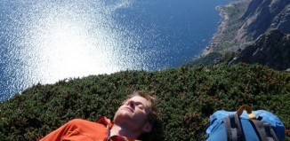 """The Corner Kick"": First Ascent by Adam Pustelnik"